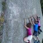 Boulder sotto il rifugio